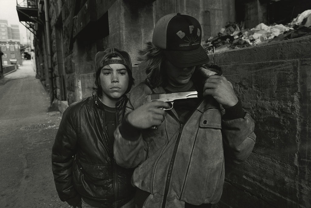 Rat and Mike with a Gun 1983