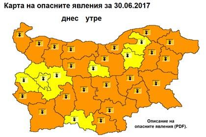 Temperaturite V Oblast Stara Zagora Na 30 Yuni She Nadvishat 40