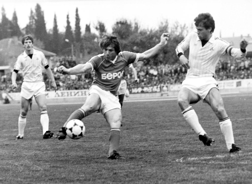 vasil dragolov beroe shampion football 1986