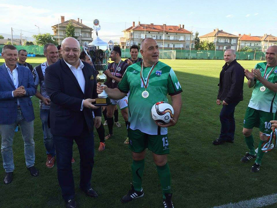 boyko borissov football